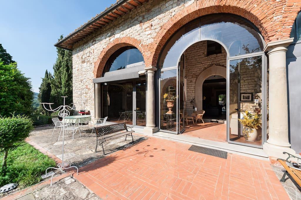 Casolare in pietra –  Monteloro ( pressi Fiesole)